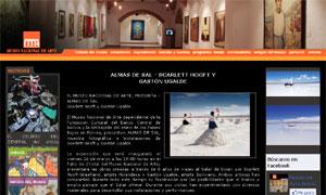 Ugalde y Hooft en el Museo Nacional de Arte - Bolivia