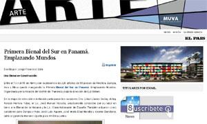 Primera Bienal del Sur en Panamá. Emplazando Mundos - EL PAIS ARTE
