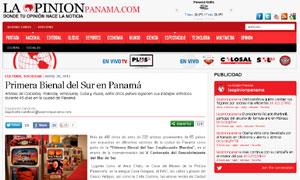 Primera Bienal del Sur en Panamá - La Opinión Panamá